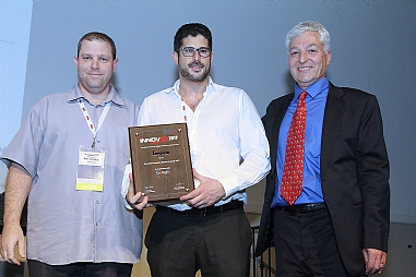 Innoviz won the title of Israel's innovative start-up company in the iNNOVEX Disrupt 2017 competition